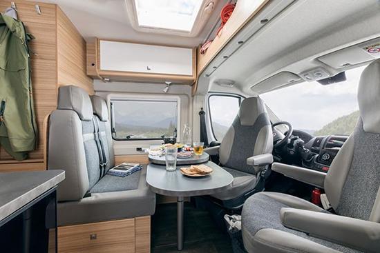 Campingbus mit Dieselmotor
