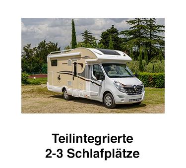 Teilintegrierte Wohnmobile für  Köln